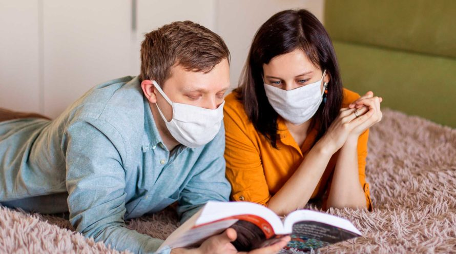 Pareja en tiempos de Pandemia de COVID-19